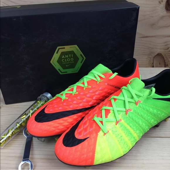 free delivery new collection many fashionable Nike Hypervenom Phantom 3 SG Pro AC Soccer Cleats NWT